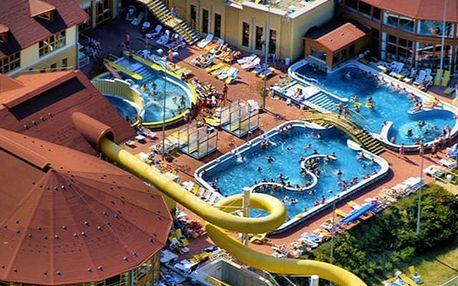 Hotel Forrás Zalakaros***, Dokonalý relax v lázních s polopenzí nedaleko Balatonu