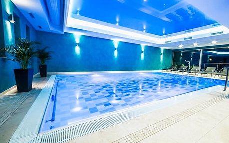 Hotel Panorama****, 4* relaxace v lázních s polopenzí, bazénem a wellness