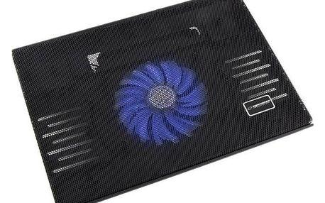 """Chladící podložka pro notebooky Esperanza EA142 Solano pro 15,4"""" - 15,6"""" (EA142 - 5901299904213) černá + Doprava zdarma"""