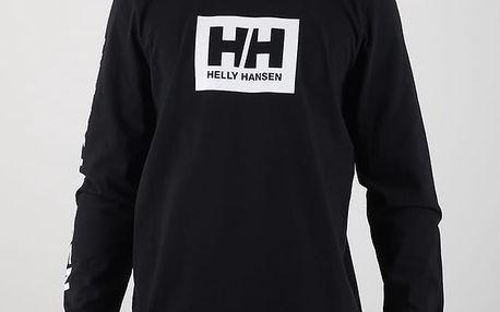 Tričko Helly Hansen NINETY FIVE LS TEE Černá