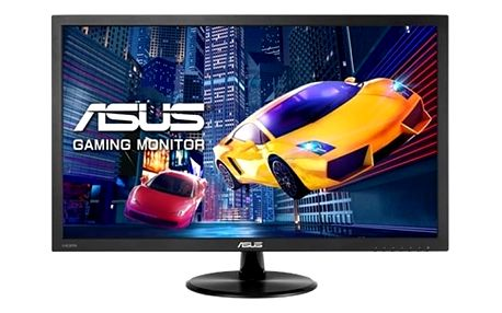 "Asus MT 23.6"" VP247H 1920x1080 TN-LED, 1ms, matný, 250cd, repro, D-SUB, HDMI, DVI, eye-care"