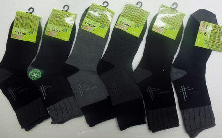 1-6 párů dámských nebo pánských ponožek