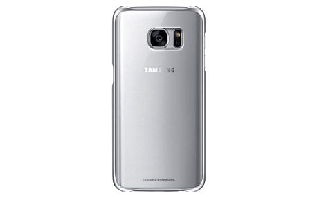 Kryt na mobil Samsung pro Galaxy S7 (EF-QG930CZ) (EF-QG930CSEGWW) stříbrný