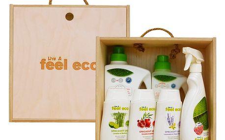 Dárková sada produktů Feel Eco