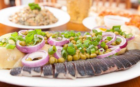 Ukrajinsko-ruské degustační menu pro 4 osoby