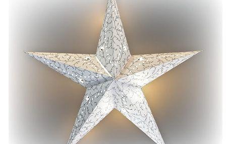 Marimex Hvězda svítící LED papírová - 18000091