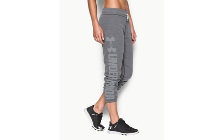 Tepláky Under Armour Favorite Fleece Pant Šedá