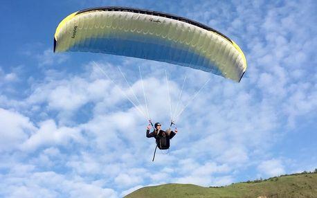 4denní aktivní a intenzivní kurz paraglidingu