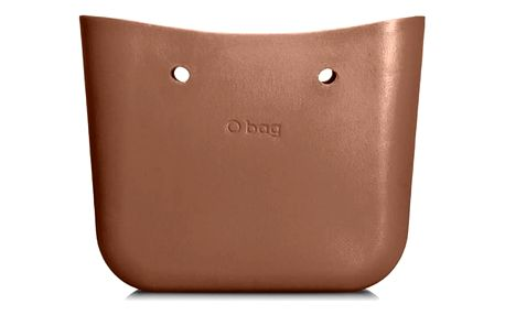 O bag metalicky hnědé tělo Bronzo
