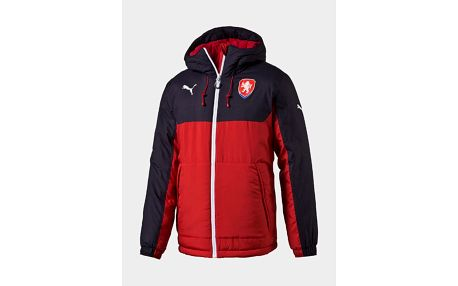 Bunda Puma Czech Republic Bench Jacket chili pepper Červená
