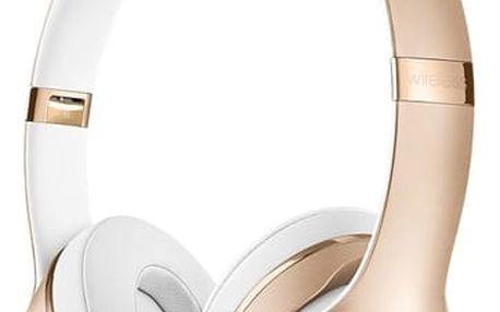 Sluchátka Beats Solo3 Wireless On-Ear (MNER2ZM/A) zlatá + DOPRAVA ZDARMA
