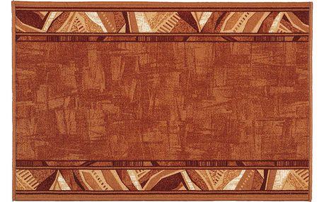 Vopi Kobercový běhoun Corrido terakota, 80 x 200 cm