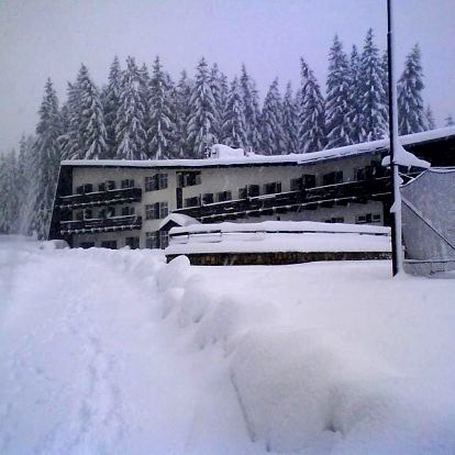 Zima v Horní Bečvě v Beskydech pro dva s polopenzí a saunou