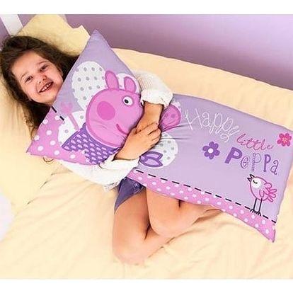 Cure Pink Polštář Peppa Pig, 80 x 40 cm