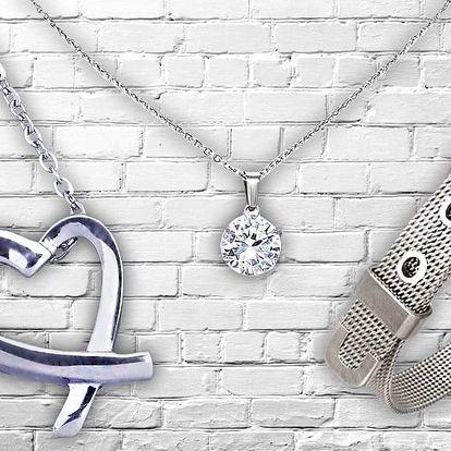 Velký výběr krásných náhrdelníků a náramků z chirurgické oceli