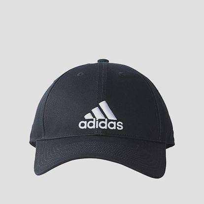 Kšiltovka adidas Performance 6P CAP COTTON Černá