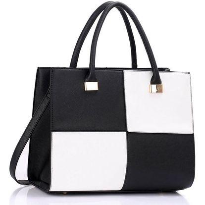 Dámská kabelka Sophie 153XL černobílá