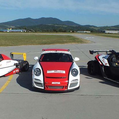Jedinečná jízda na Porsche GT3, Formula nebo KTM X Bow v Trenčíně