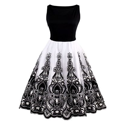 Dámské vintage společenské šaty