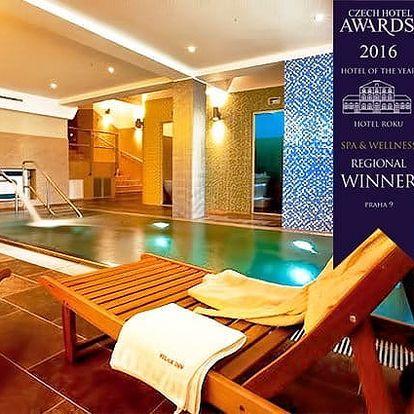 2–3denní wellness pobyt pro 2 osoby se snídaněmi v luxusním hotelu Relax Inn**** v Praze