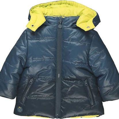 BOBOLI Oboustranná zimní bunda, vel. 104 - modrá, kluk