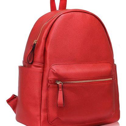 Dámský červený batoh Eddie 186C