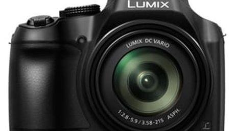 Digitální fotoaparát Panasonic DC-FZ82EP-K černý + DOPRAVA ZDARMA