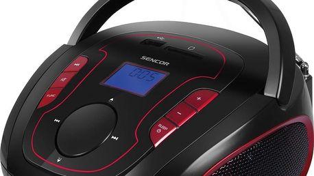 Rádio s CD přehrávačem Sencor SRD 230 BRD