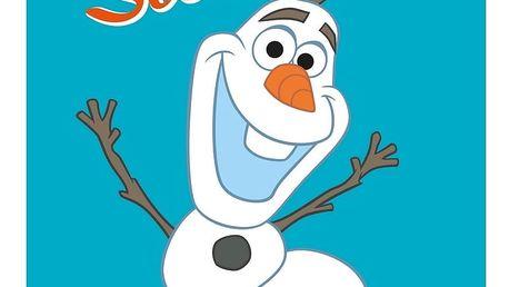 CTI Osuška Ledové království Frozen Summer, 70 x 120 cm