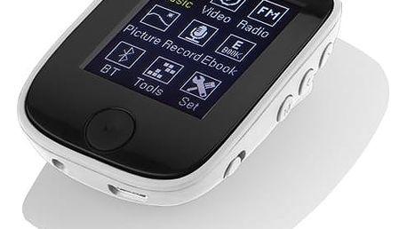 MP3 přehrávač GoGEN MXM 421 GB8 BT bílý