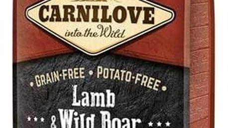Granule Brit Carnilove Lamb & Wild Boar for Adult 12 kg + Doprava zdarma