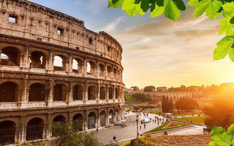 Na skok do Říma na 1 noc vč. snídaně a průvodce
