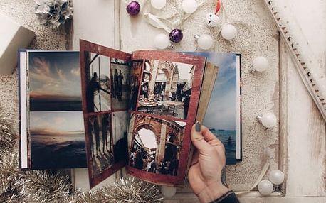 Kvalitní fotokniha s pevnou knížní vazbou z vlastních fotografi