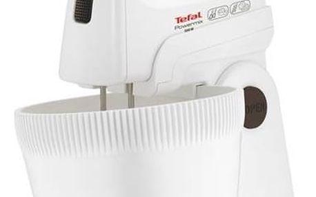 Ruční šlehač s mísou Tefal POWERMIX HT617138 bílý + Doprava zdarma