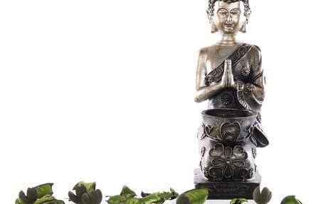 Dekorace Svícen na čajovku Buddha