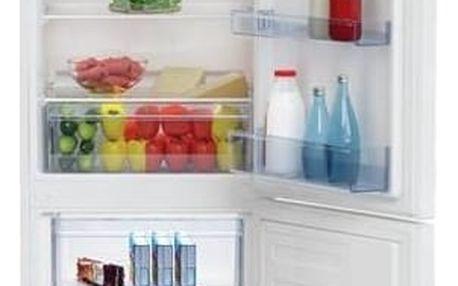 Kombinovaná lednička s mrazákem dole Beko RCSA 270K20W