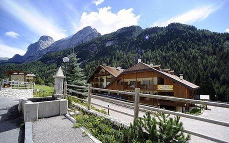 Itálie - Val di Fassa e Carezza na 4 až 8 dní, bez stravy s dopravou vlastní