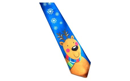Kravata s vánočními motivy - 19 variant