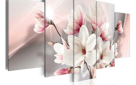 Obraz na plátně - Magnolia in bloom 200x100 cm