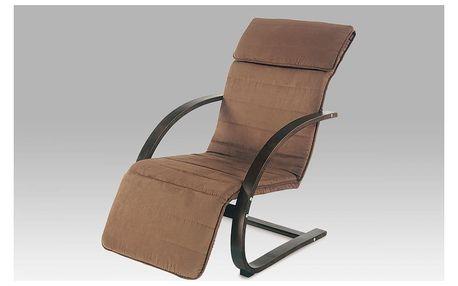 Relaxační pohupovací křeslo QR-31, tmavě hnědé Autronic