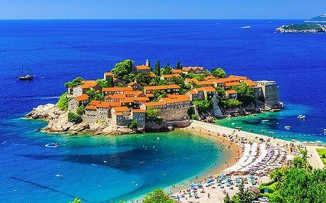 Apartmány Lux A&S Montenegro, Moderní apartmány 300 metrů od pláže v historickém městě