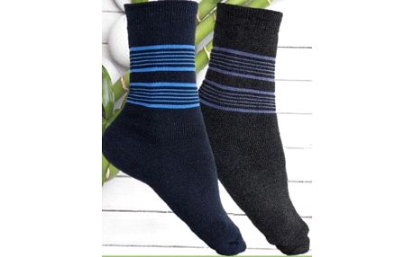 Dámské nebo pánské ponožky s bambusovým vláknem