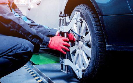Měření a seřízení geometrie kol vašeho vozu