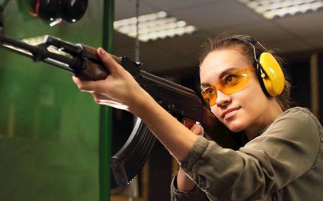 Zážitková střelba z dlouhých i krátkých zbraní