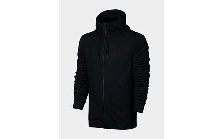 Mikina Nike M NSW AV15 HOODIE FZ FLC Černá