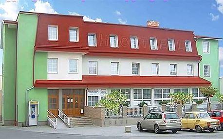 3 až 6denní pobyt pro 2 osoby s polopenzí a vínem v hotelu Alf*** v jižních Čechách