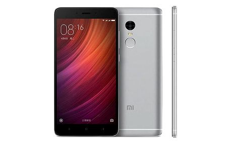Mobilní telefon Xiaomi Redmi Note 4 32 GB CZ LTE (472624) šedý + DOPRAVA ZDARMA