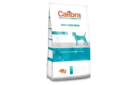Granule Calibra Dog Hypoallergenic Adult Large Breed Chicken 14 kg + Doprava zdarma