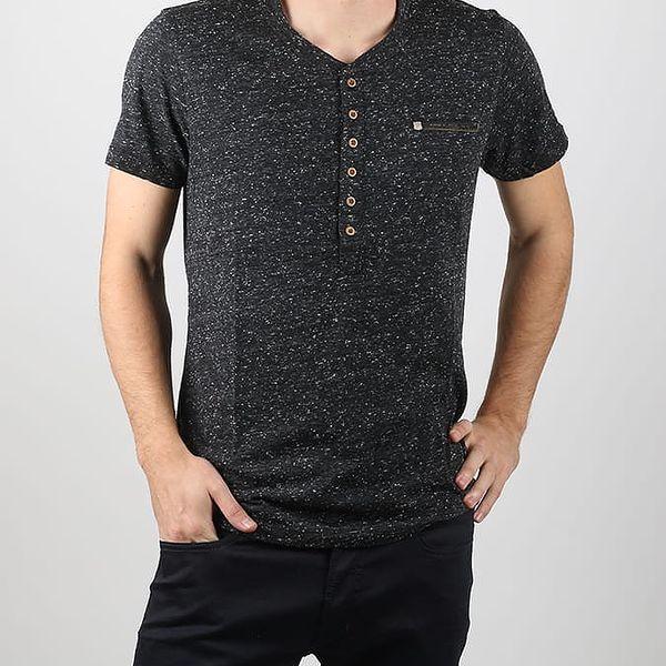 Tričko Diesel T-Erato Camicia Černá
