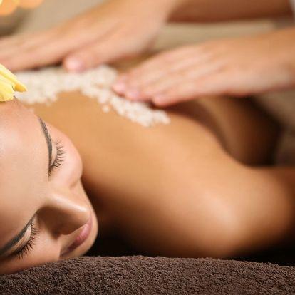 Víkendová masáž dle výběru z 5 druhů